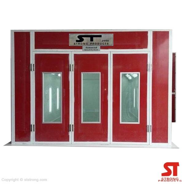 ห้องพ่นอบสีรถยนต์ ST-3000 สูตรน้ำ / ระบบน้ำมัน / ไฟฟ้า / แก๊ส LPG