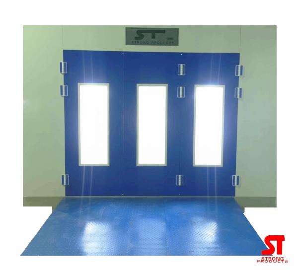 ห้องพ่นอบสีรถยนต์ ST-2000 ระบบน้ำมัน / ไฟฟ้า / แก๊ส LPG